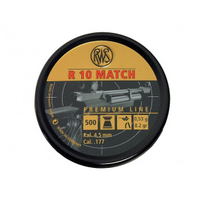 RWS R10 Match .177 Rifle Pellets 4.5mm