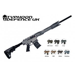 Typhoon F12 Maxi 12g Semi-Auto Shotgun grey with colour variants