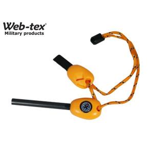 Web-Tex Steel Survival Fire Starter