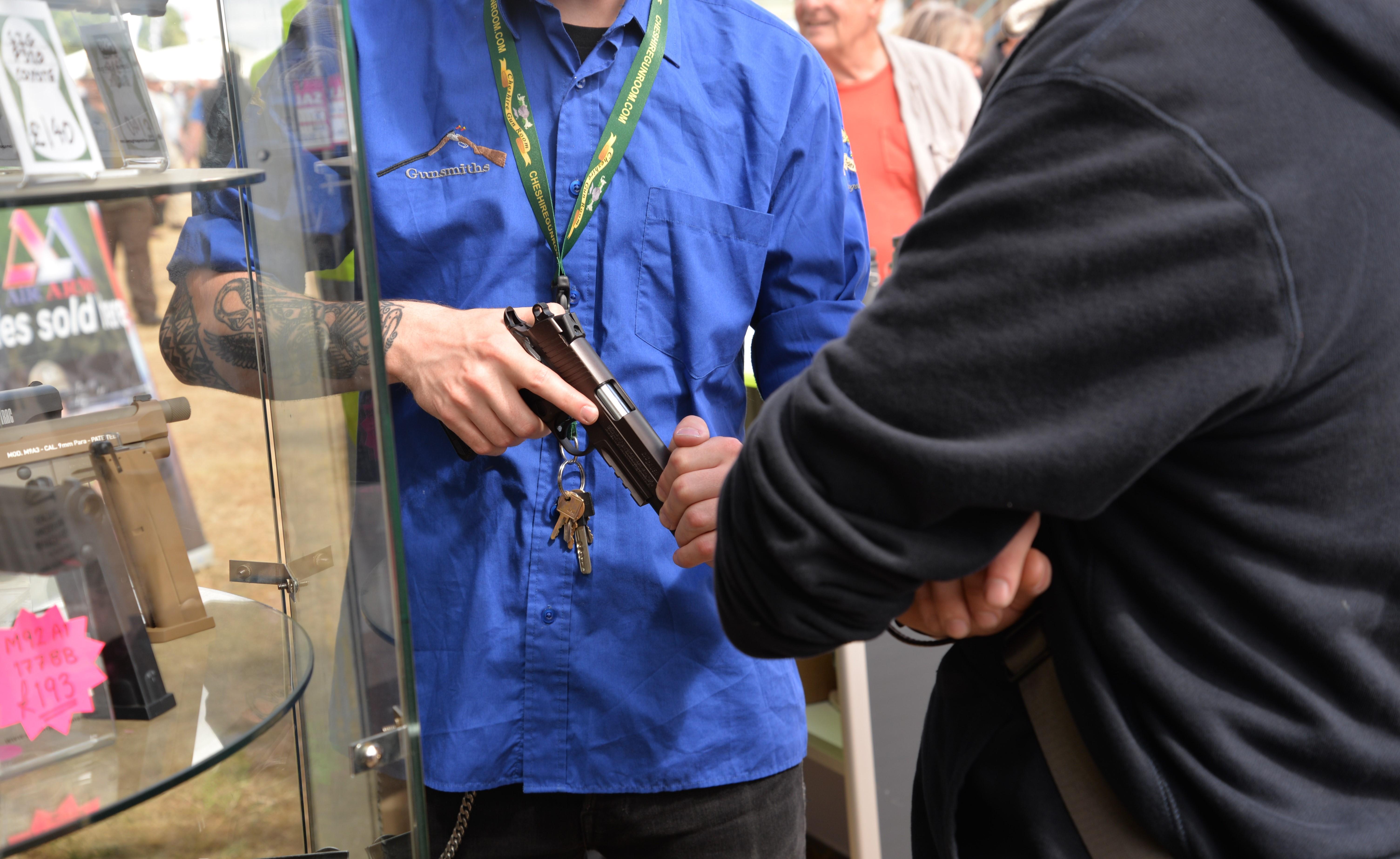 Cheshire Gun Room at British Shooting Show