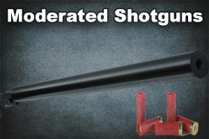 Moderated Shotguns