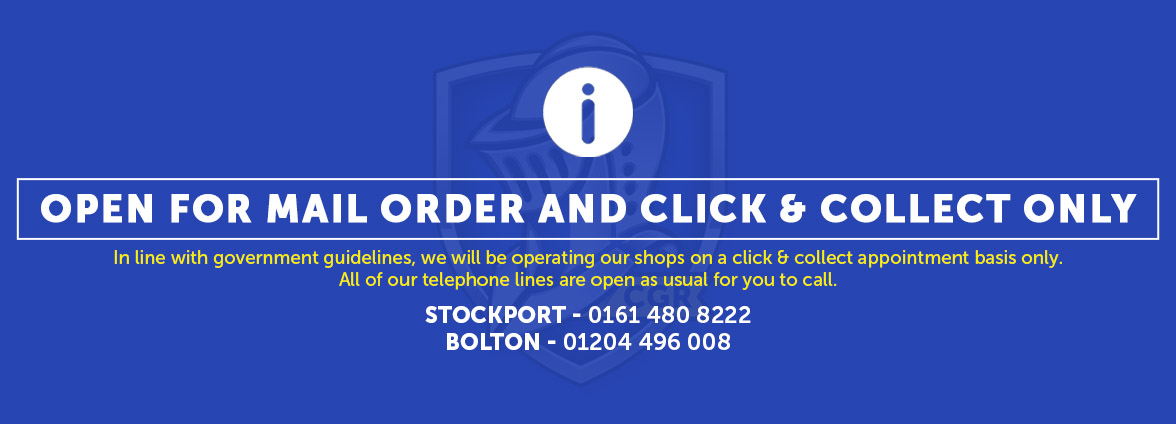 Stores now open for collection on ALL essential items