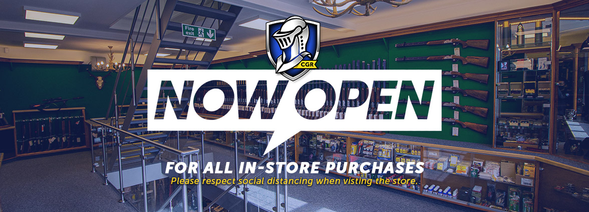 Stores open for collection on ALL essential items