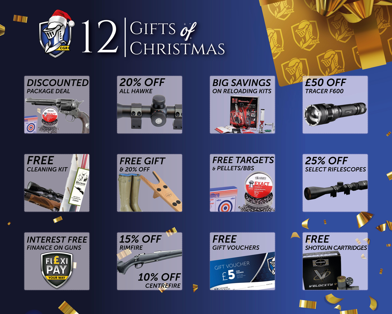 12 Gifts of Christmas Advent Calendar