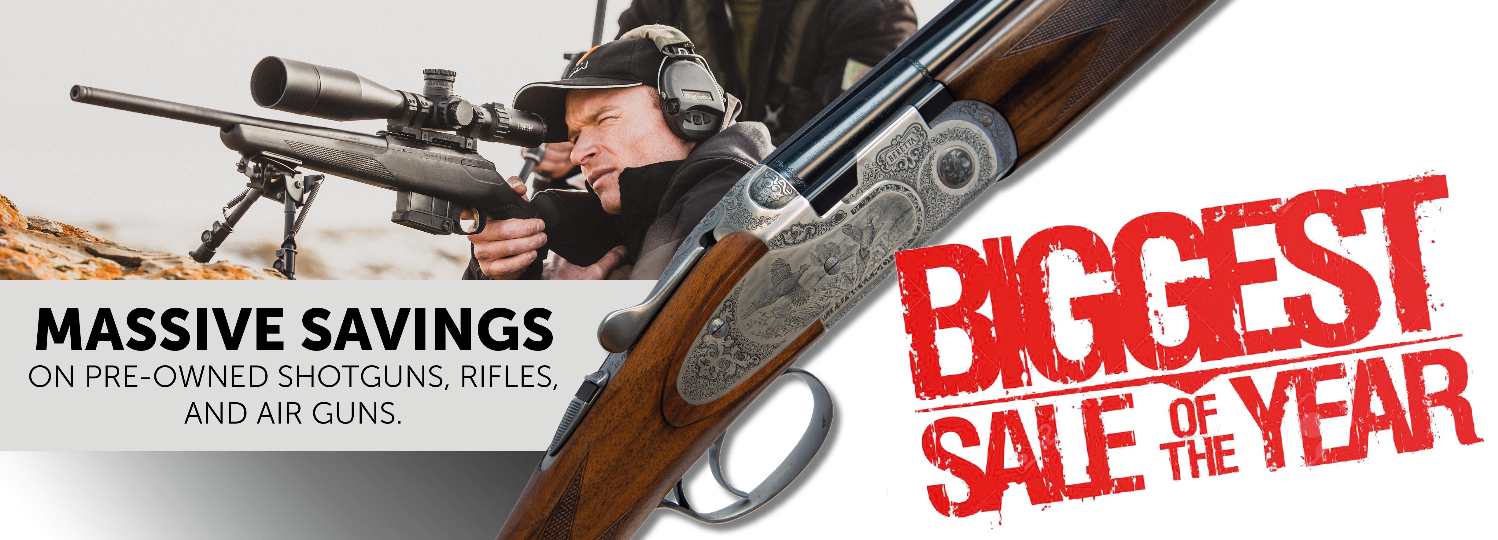 Massive Pre-Owned Gun Sale