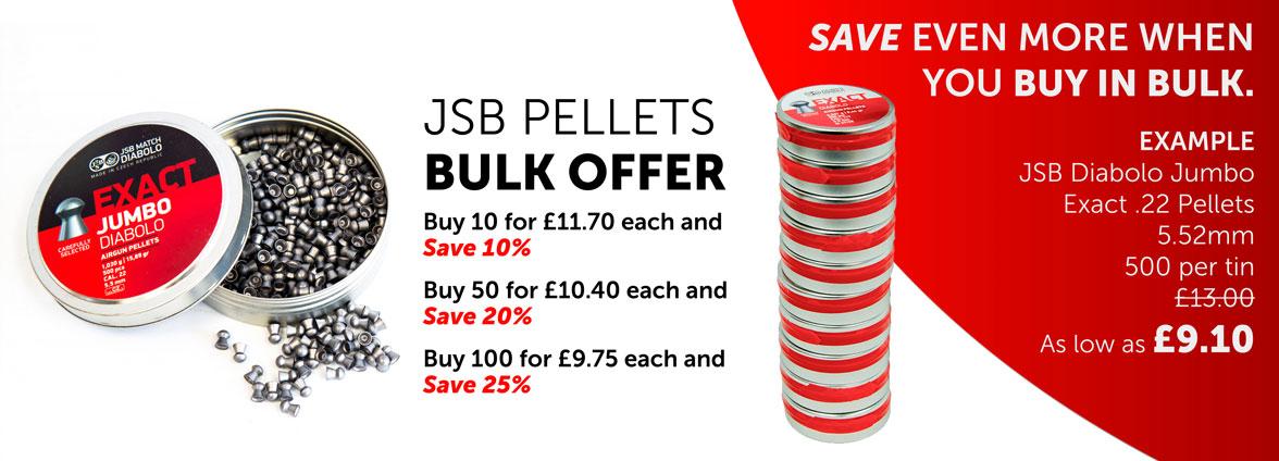 JSB Pellets Bulk Buy