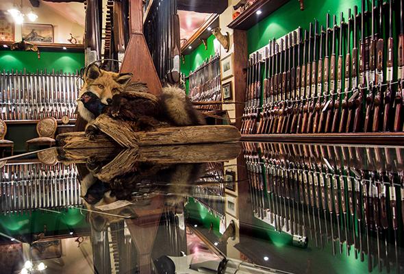 Cheshire Gun Room Showroom